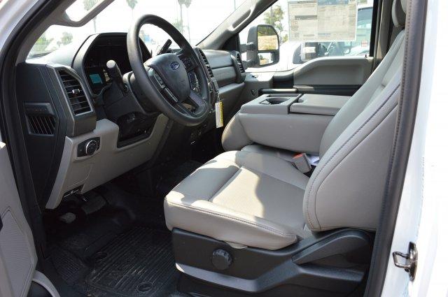 2018 F-350 Regular Cab DRW 4x2,  Harbor Black Boss Stake Bed #F8C515 - photo 6