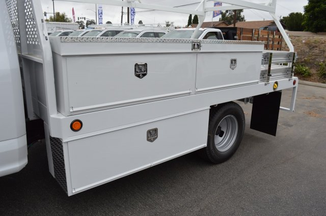 2018 F-350 Regular Cab DRW 4x2,  Scelzi CTFB Contractor Body #F8C525 - photo 9
