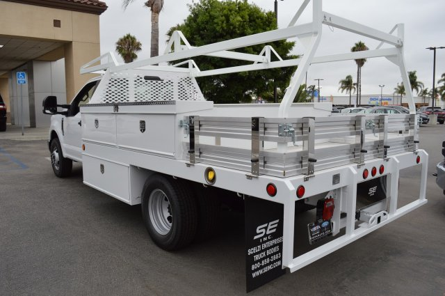 2018 F-350 Regular Cab DRW 4x2,  Scelzi Contractor Body #F8C525 - photo 1