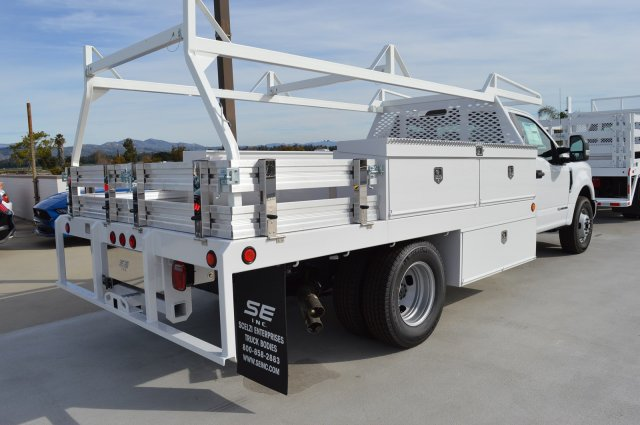 2019 F-350 Regular Cab DRW 4x2,  Scelzi CTFB Contractor Body #F9C567 - photo 2