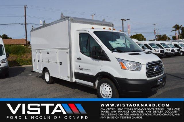 2019 Transit 350 HD DRW 4x2,  Supreme Service Utility Van #F9C572 - photo 1