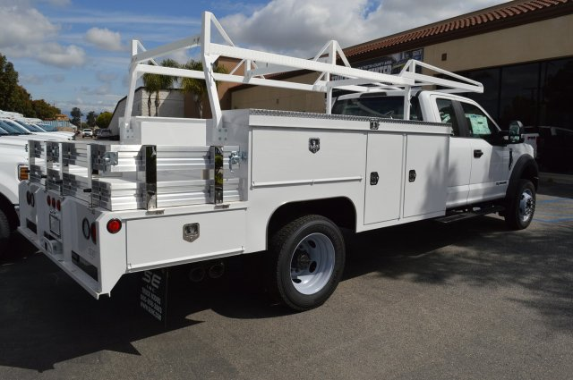2019 F-550 Super Cab DRW 4x2,  Scelzi Combo Body #F9C593 - photo 1