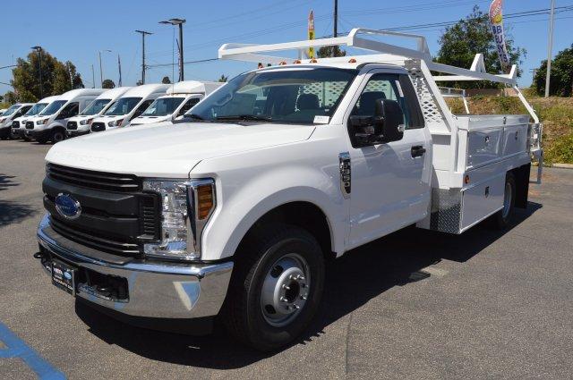 2019 F-350 Regular Cab DRW 4x2,  Scelzi CTFB Contractor Body #F9C633 - photo 4