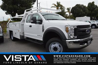2019 F-450 Super Cab DRW 4x2, Scelzi CTFB Contractor Body #F9C682 - photo 1