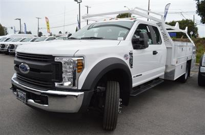 2019 F-450 Super Cab DRW 4x2, Scelzi CTFB Contractor Body #F9C682 - photo 4