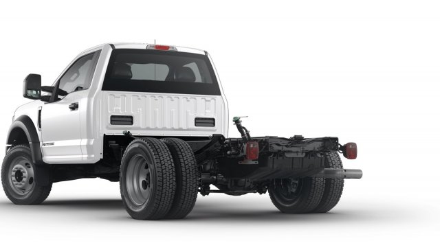 2019 F-450 Regular Cab DRW 4x2, Scelzi Stake Bed #F9C704 - photo 1