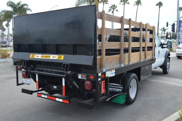 2016 F-550 Crew Cab DRW 4x4,  Stake Bed #P2106 - photo 1