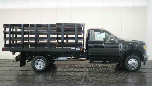 2017 F-350 Regular Cab DRW 4x4, Reading Stake Bed #F105867 - photo 3