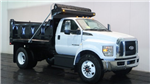 2018 F-650 Regular Cab DRW 4x2,  Galion 400U Dump Body #F106509 - photo 1