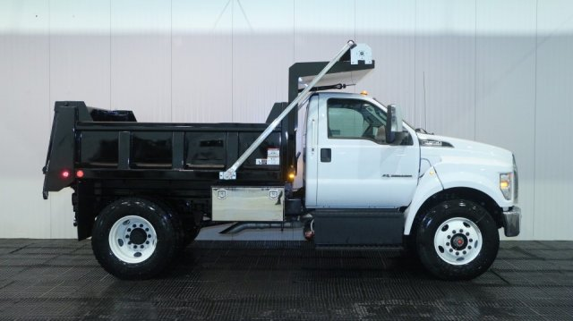 2018 F-650 Regular Cab DRW, Rugby Dump Body #F106533 - photo 3