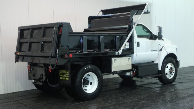 2018 F-650 Regular Cab DRW, Rugby Dump Body #F106533 - photo 2