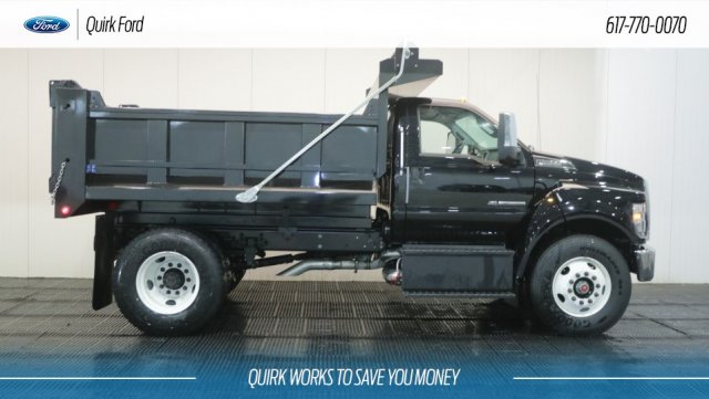 2018 F-650 Regular Cab DRW 4x2,  Metropolitan Truck Center Inc. Dump Body #F106540 - photo 3