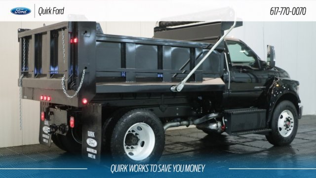 2018 F-650 Regular Cab DRW 4x2,  Metropolitan Truck Center Inc. Dump Body #F106540 - photo 2