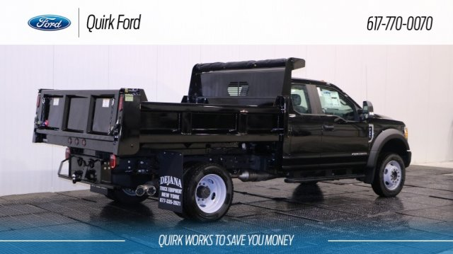 2017 F-550 Super Cab DRW 4x4, Rugby Dump Body #F106574 - photo 2