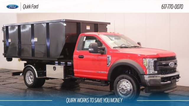 2018 F-550 Regular Cab DRW 4x4,  Switch N Go Roll-Off Body #F106619 - photo 1