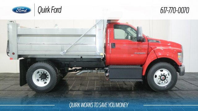 2018 F-650 Regular Cab DRW 4x2,  Voth Truck Bodies Dump Body #F107102 - photo 3