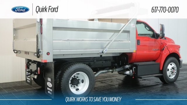 2018 F-650 Regular Cab DRW 4x2,  Voth Truck Bodies Dump Body #F107102 - photo 2