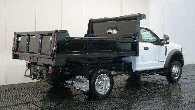 2018 F-550 Regular Cab DRW 4x4,  Rugby Dump Body #F107310 - photo 2