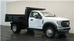 2018 F-550 Regular Cab DRW 4x4,  Rugby Dump Body #F107310 - photo 1
