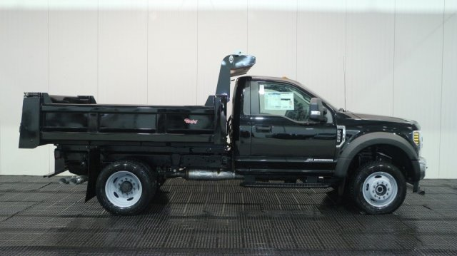 2018 F-550 Regular Cab DRW 4x4, Rugby Dump Body #F107429 - photo 3
