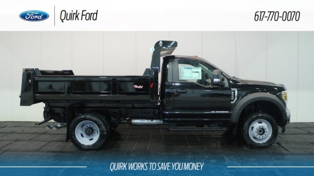 2018 F-550 Regular Cab DRW 4x4, Rugby Dump Body #F107521 - photo 3