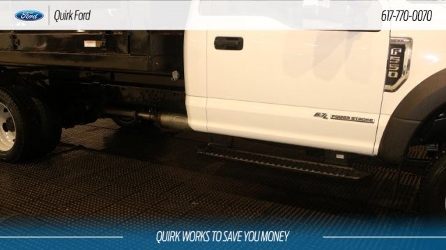 2018 F-550 Regular Cab DRW 4x4,  Rugby Landscape Dump #F107737 - photo 9
