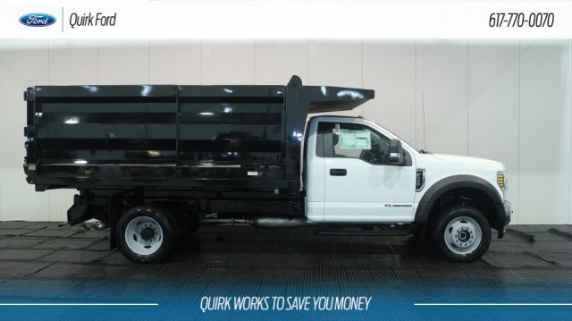 2018 F-550 Regular Cab DRW 4x4,  Rugby Landscape Dump #F107737 - photo 3