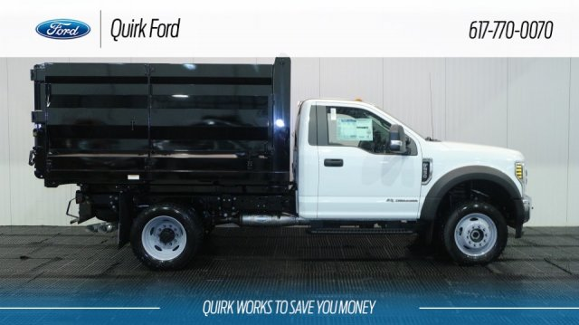 2018 F-550 Regular Cab DRW 4x4,  Rugby Landscape Dump #F107838 - photo 3