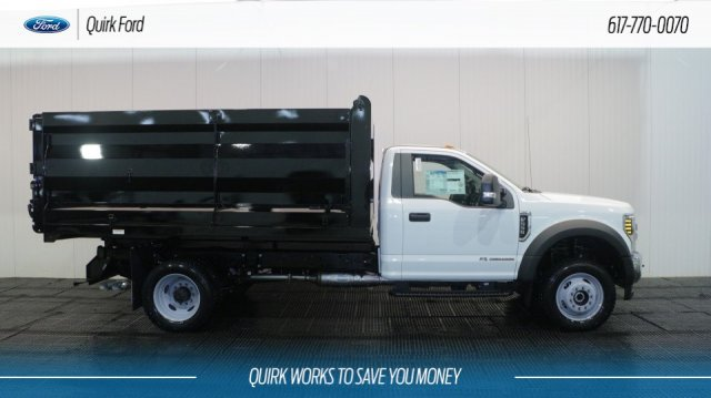 2018 F-550 Regular Cab DRW 4x4,  Rugby Landscape Dump #F107930 - photo 3