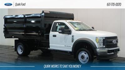 2018 F-550 Regular Cab DRW 4x4,  Rugby Landscape Dump #F107930 - photo 1