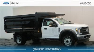 2018 F-550 Regular Cab DRW 4x4,  Rugby Landscape Dump #F107944 - photo 1