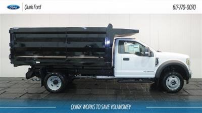 2018 F-550 Regular Cab DRW 4x4,  Rugby Landscape Dump #F107944 - photo 3