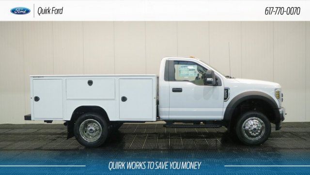 2018 F-550 Regular Cab DRW 4x4,  Duramag Service Body #F107973 - photo 3