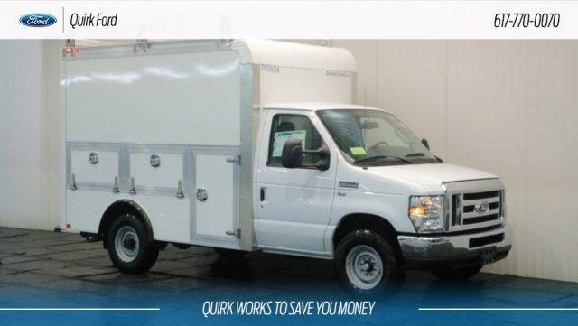 2018 E-350 4x2,  Dejana Truck & Utility Equipment DuraCube Max Service Utility Van #F108050 - photo 1