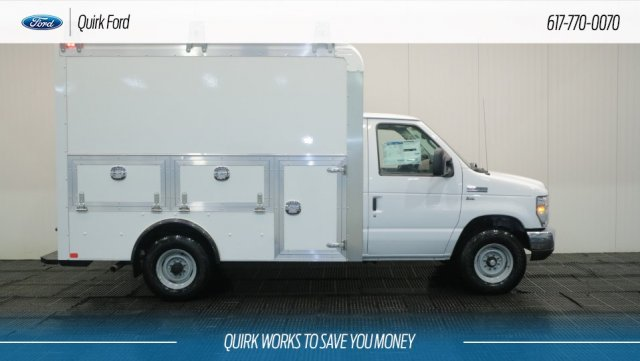 2018 E-350 4x2,  Dejana Truck & Utility Equipment Service Utility Van #F108050 - photo 3
