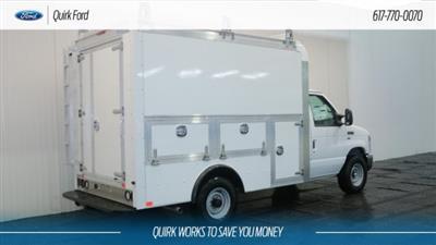 2018 E-350 4x2,  Dejana Truck & Utility Equipment DuraCube Max Service Utility Van #F108050 - photo 2