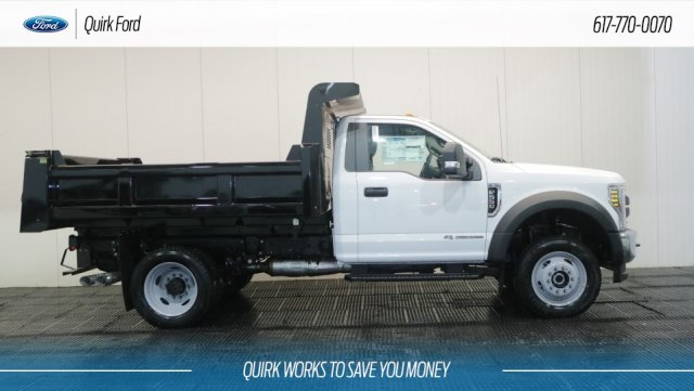 2018 F-550 Regular Cab DRW 4x4,  Rugby Dump Body #F108053 - photo 3
