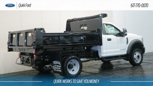 2018 F-550 Regular Cab DRW 4x4,  Rugby Dump Body #F108053 - photo 2