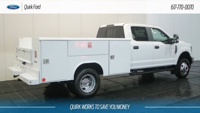 2018 F-350 Crew Cab DRW 4x4,  Reading Service Body #F108111 - photo 2