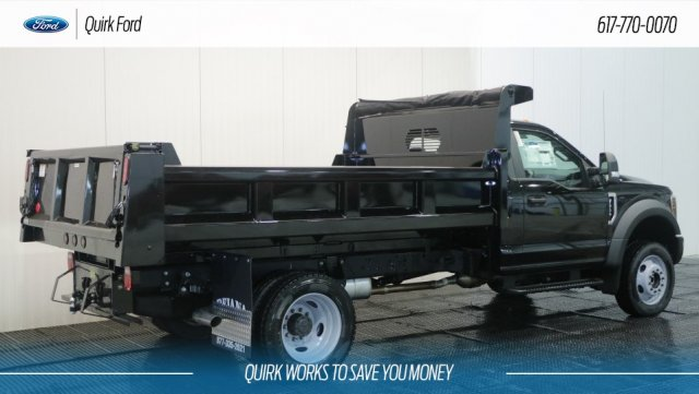 2018 F-550 Regular Cab DRW 4x4,  Rugby Dump Body #F108129 - photo 2