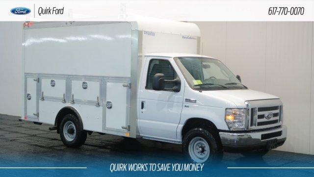 2018 E-350 4x2,  Dejana Truck & Utility Equipment DuraCube Max Service Utility Van #F108187 - photo 1