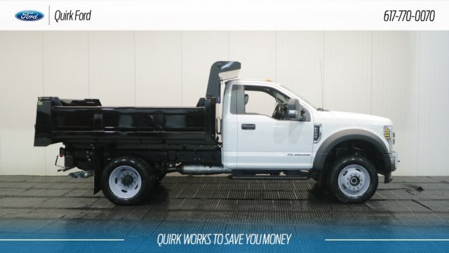 2018 F-550 Regular Cab DRW 4x4,  Rugby Dump Body #F108188 - photo 3