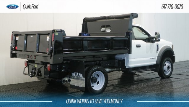 2018 F-550 Regular Cab DRW 4x4,  Rugby Dump Body #F108188 - photo 2