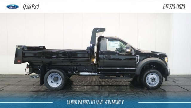 2018 F-550 Regular Cab DRW 4x4,  Rugby Dump Body #F108189 - photo 3