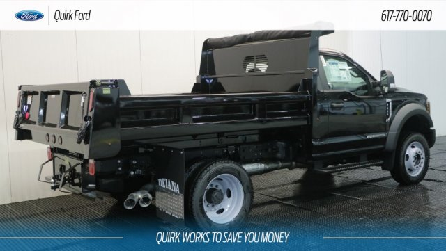 2018 F-550 Regular Cab DRW 4x4,  Rugby Dump Body #F108189 - photo 2