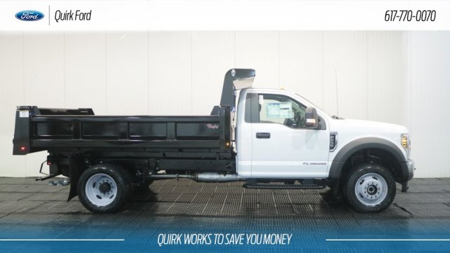 2018 F-550 Regular Cab DRW 4x4,  Rugby Dump Body #F108195 - photo 3