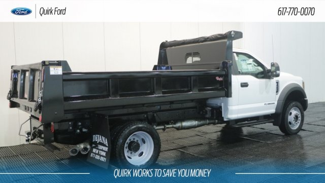 2018 F-550 Regular Cab DRW 4x4,  Rugby Dump Body #F108195 - photo 2