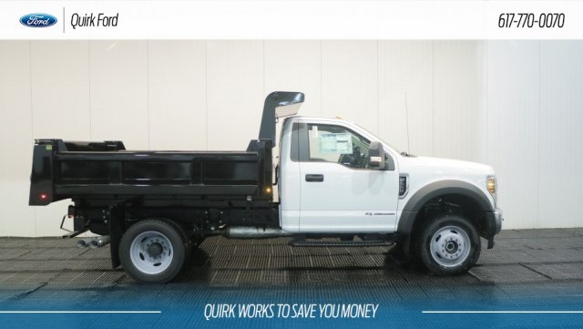2018 F-550 Regular Cab DRW 4x4,  Rugby Dump Body #F108239 - photo 3