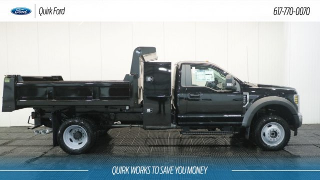 2018 F-550 Regular Cab DRW 4x4, Rugby Dump Body #F108240 - photo 3