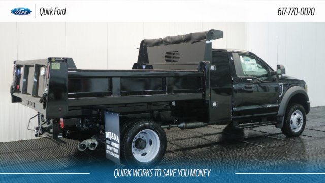 2018 F-550 Regular Cab DRW 4x4, Rugby Dump Body #F108240 - photo 2